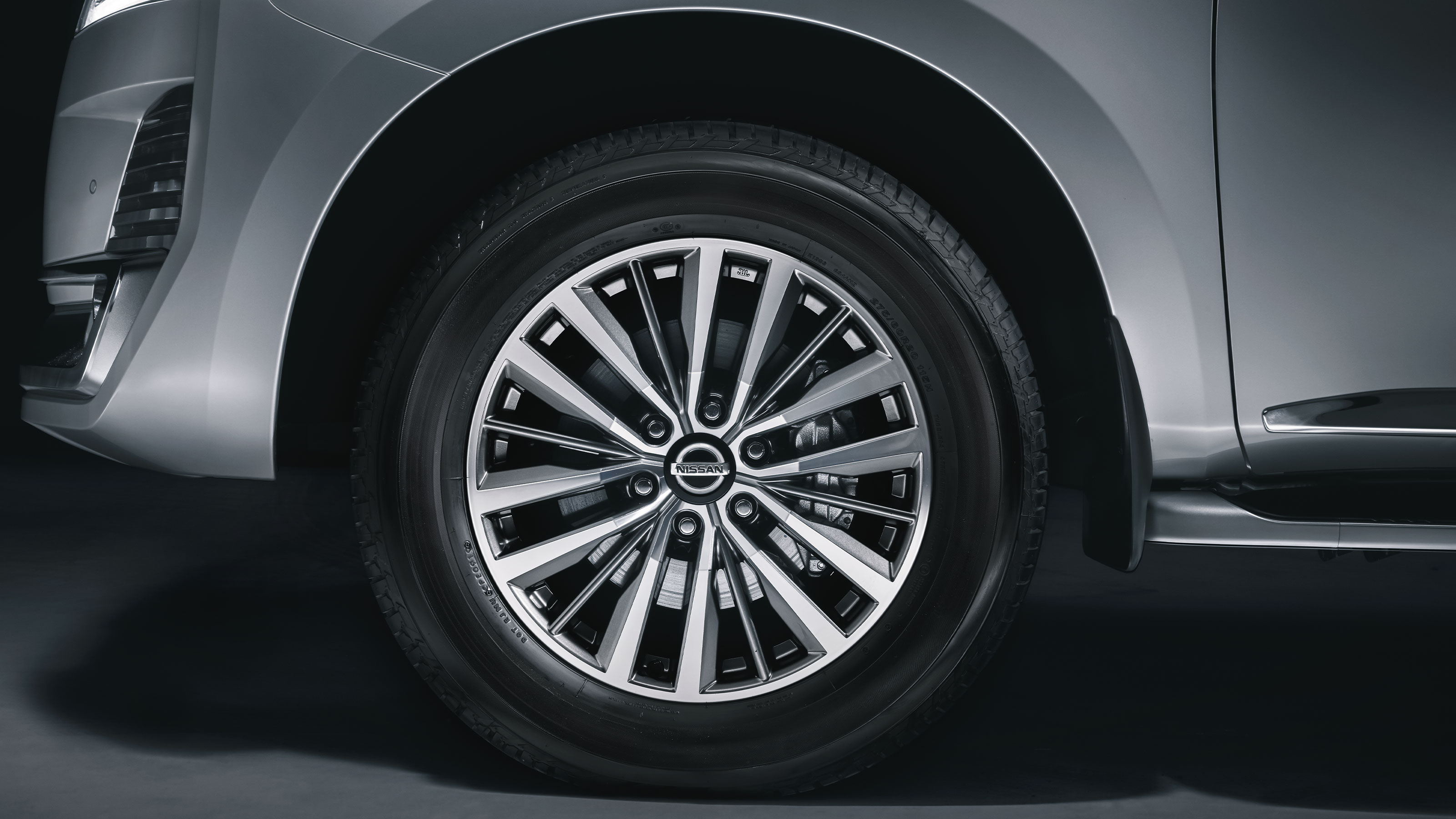 2020 NISSAN PATROL front wheel and rim