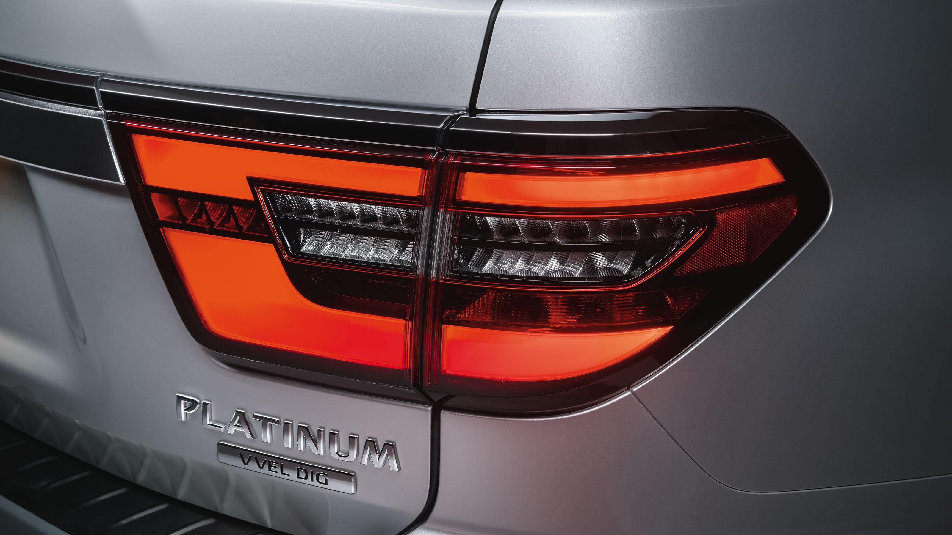 2020 NISSAN PATROL rear LED light